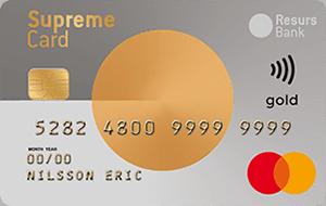 Supreme Card Gold